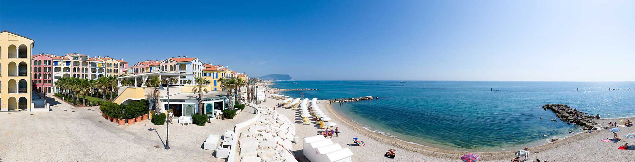 Porto Recanati panorama - Ancona - Marche