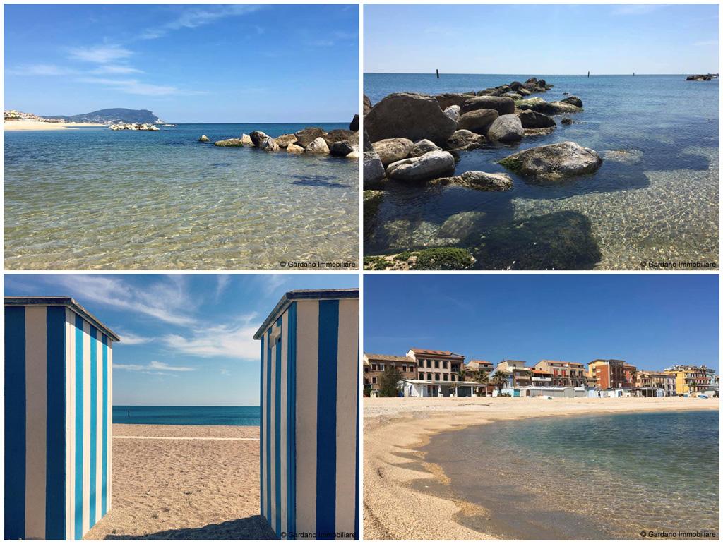 Mare di Porto Recanati, in Riviera del Conero, nelle Marche